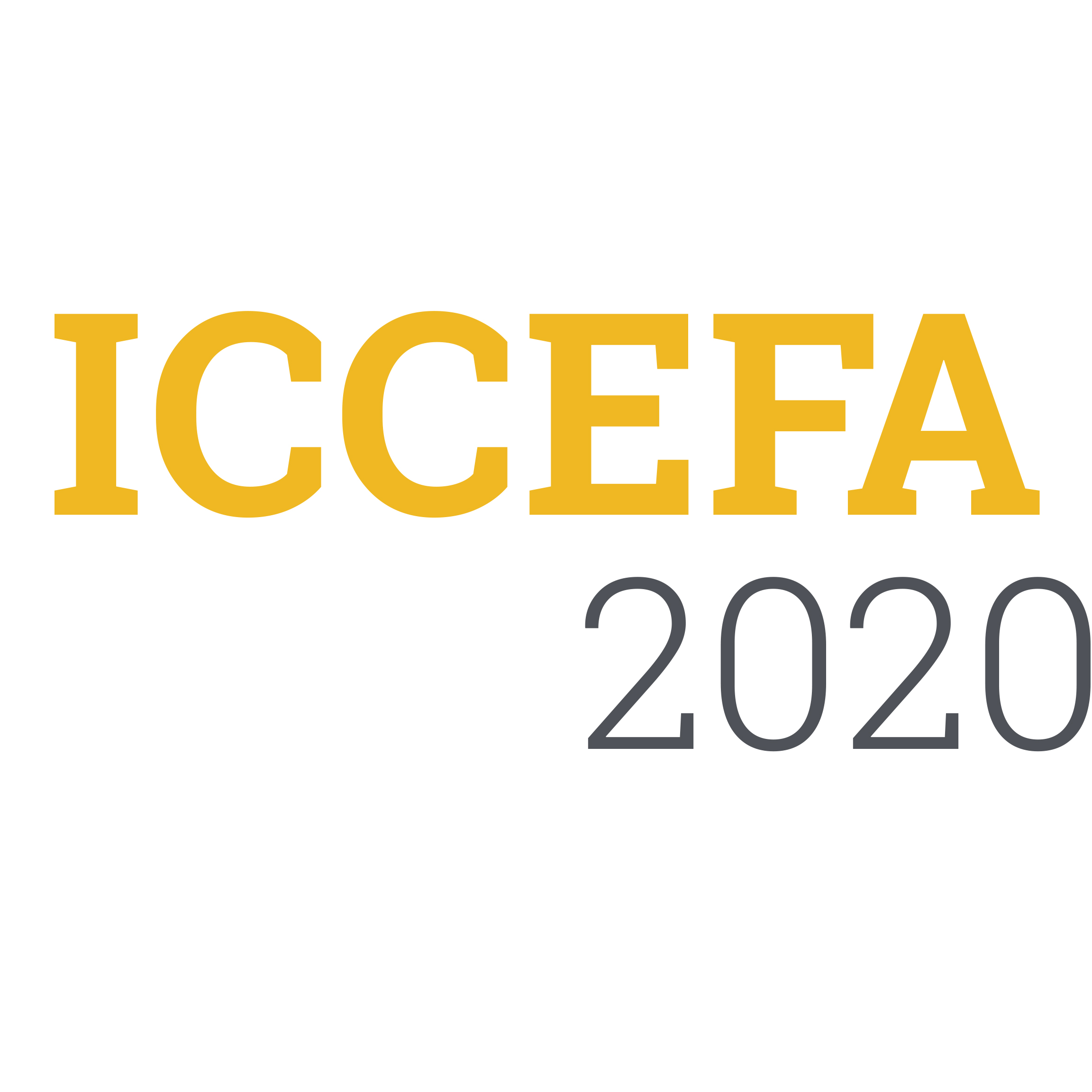 International Conference on Civil Engineering Fundamentals and Applications (ICCEFA'20)