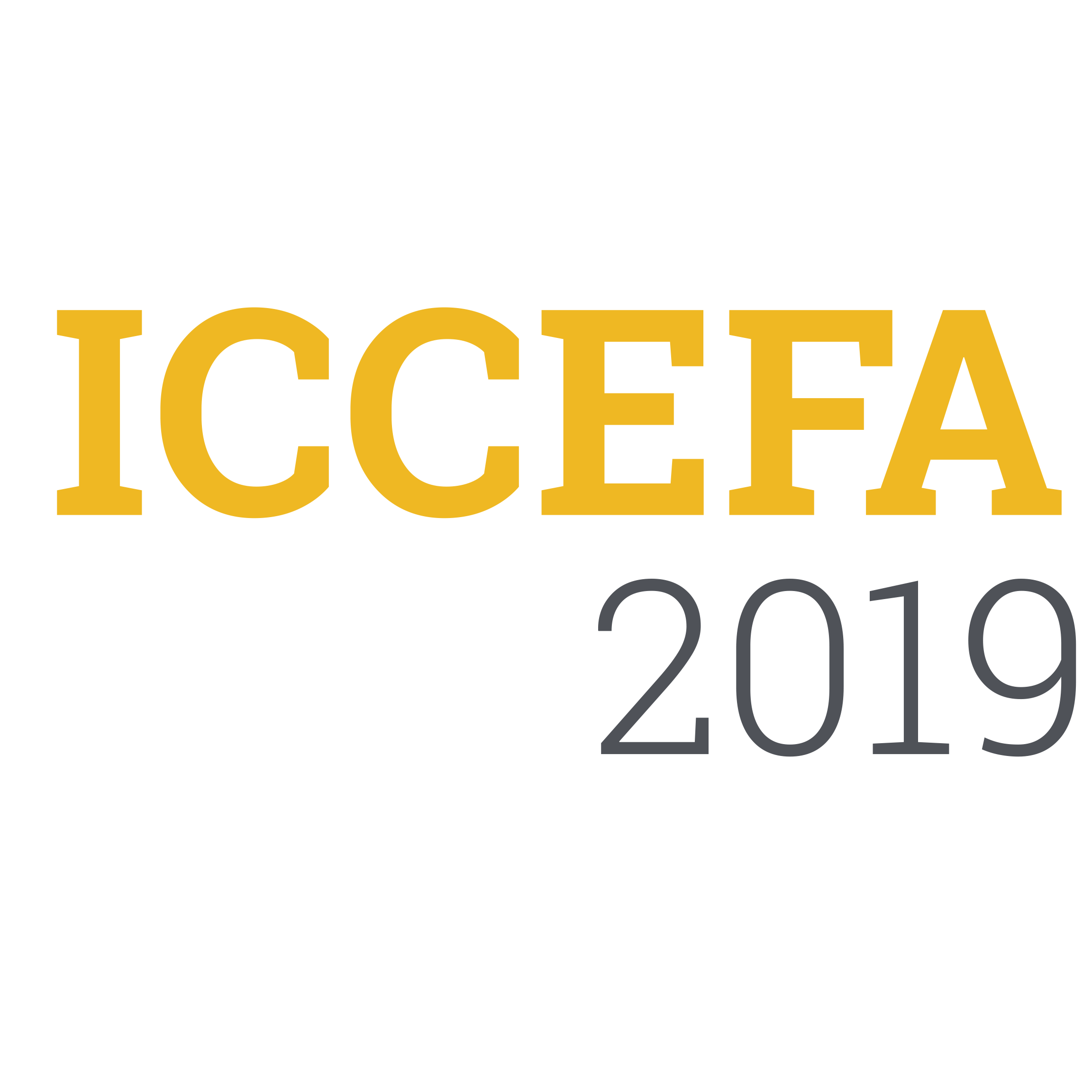 International Conference on Civil Engineering Fundamentals and Applications (ICCEFA'19)